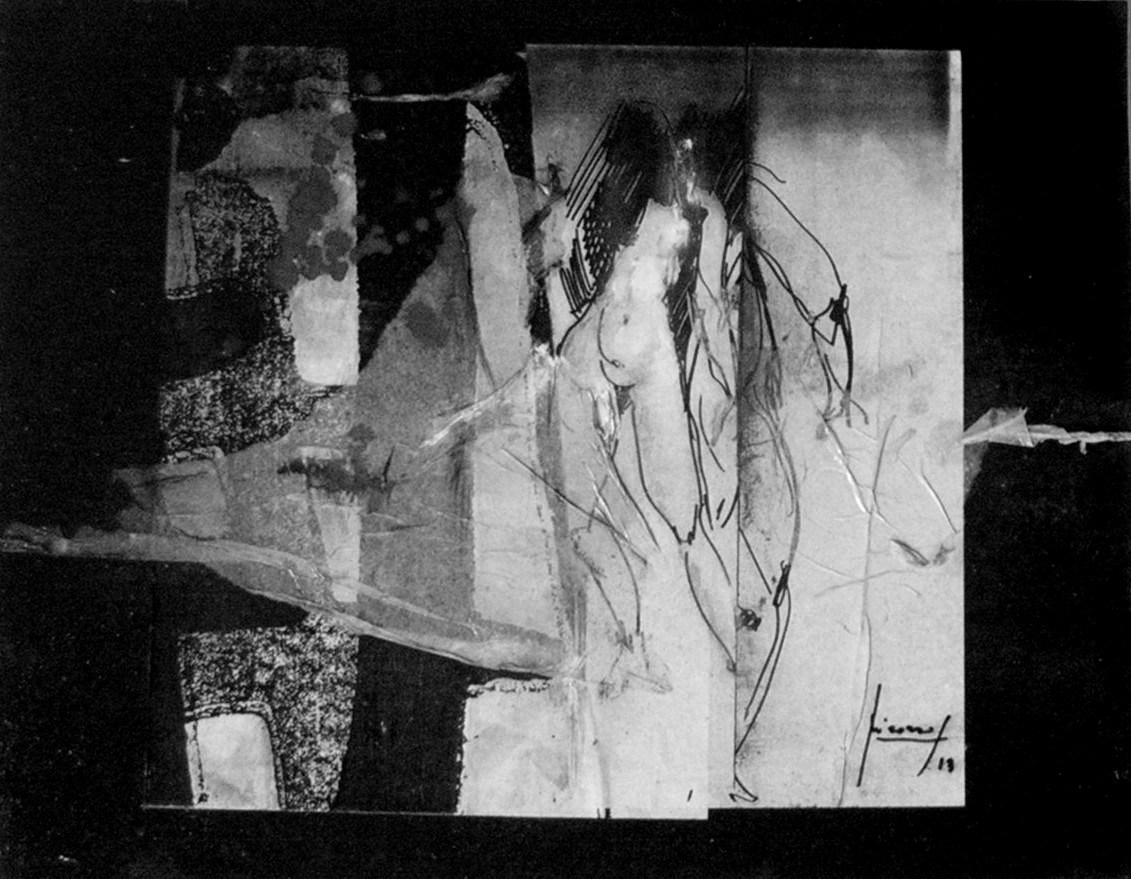 attorno-alla-ferita-le-madri-cuciono-sempre-pensieri-forti-2013-acrilico-e-inchiostri-su-tela-e-carte-30x40