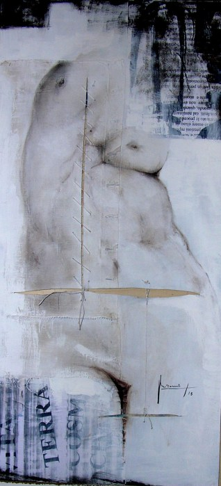 la-madre-antica-2013-olio-inchiostri-e-acrilico-su-carte-e-tela-100x50-4