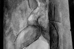 la-vergogna-emersa-2013-acrilico-e-inchiostri-su-cartoncino-35x24