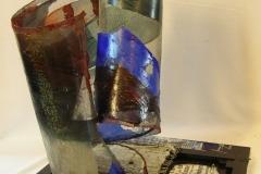 il-tubo-neurale-2011-acrilico-su-carta-e-rete-metallica-su-tela-intelaiata-cm-50x50x50-micozzi-1