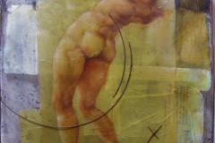 ilarco-2013-olio-su-carta-e-rete-metallica-120x8o-1