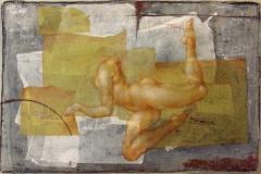 la-forma-dello-spazio-2013-olio-su-carte-e-rete-metallica-1