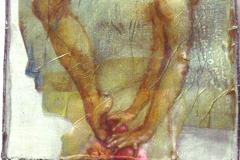 lacrobata-2013-olio-su-carte-e-rete-metallica-150x50