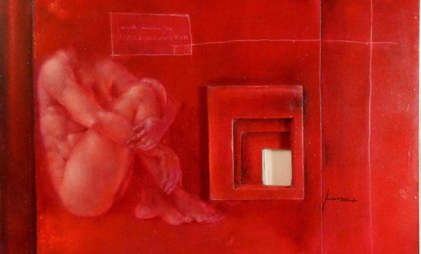 'Livelli' - 2007 - olio su tavola - cm 89x80